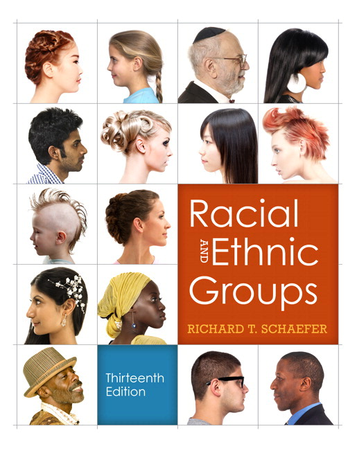 Racial and ethnic groups (black and white version) (13th edition.