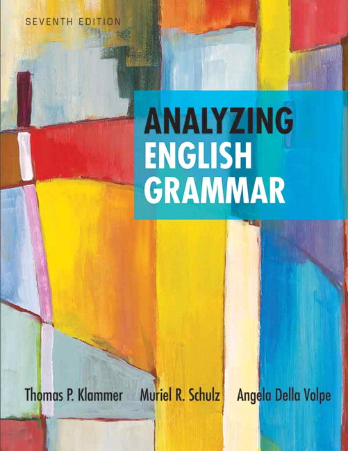 Klammer schulz della volpe analyzing english grammar pearson view larger fandeluxe Choice Image