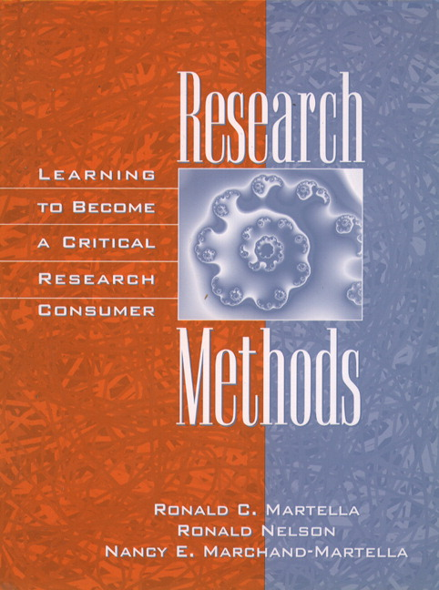 Research Methods: Learning to Become a Critical Research Consumer