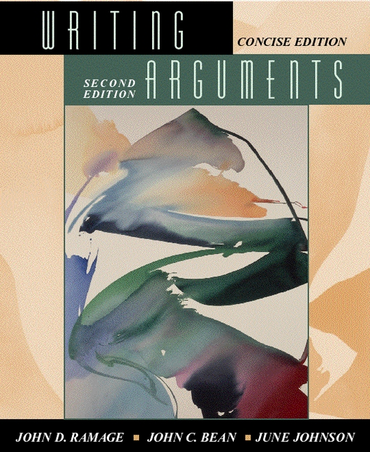 writing arguments a rhetoric with readings 8th edition Study writing arguments, brief edition: a rhetoric with readings (8th edition) discussion and chapter questions and find writing arguments, brief edition: a rhetoric with readings (8th edition) study guide questions and answers.