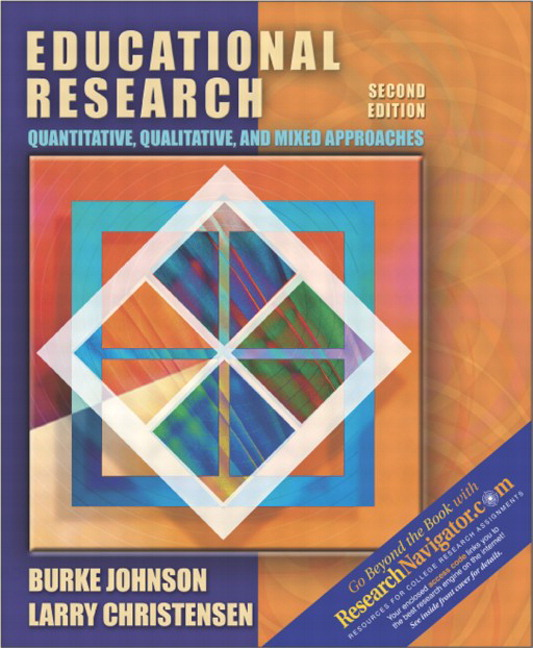 Johnson christensen educational research quantitative educational research quantitative qualitative and mixed approaches research edition 2nd edition fandeluxe Images