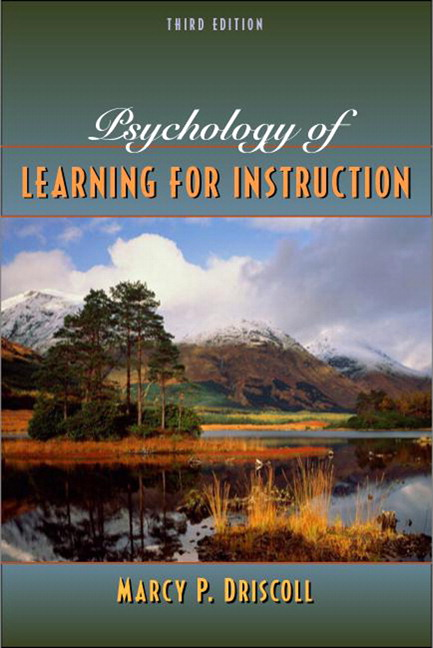 Psychology of Learning for Instruction, 3rd Edition