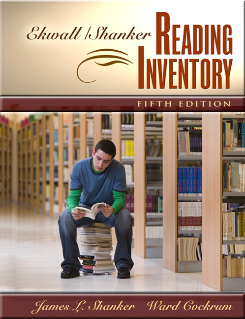 Ekwall/Shanker Reading Inventory, 5th Edition