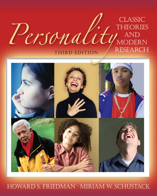 Friedman schustack personality classic theories and modern personality classic theories and modern research fandeluxe Images