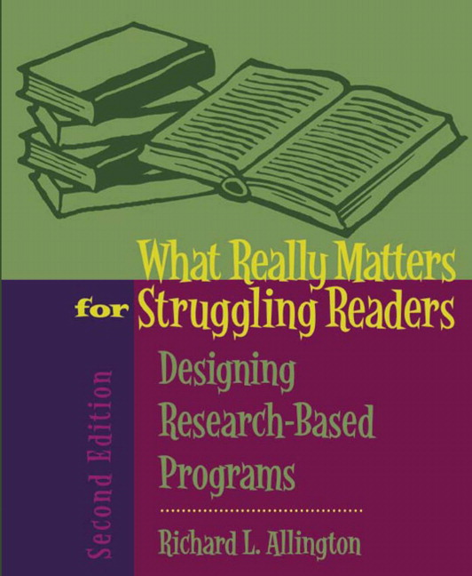 research paper on effective reading programs Characteristics of effective spelling for learning words unique to their own reading and writing programs an important line of research developed in the.