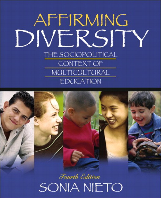 affirming diversity Affirming diversity is an excellent text book for anyone involved in the field of education this book is also a good read for parents it reads fairly easily, and uses case studies to give insight to lessons.