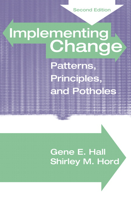 Implementing Change: Patterns, Principles and Potholes