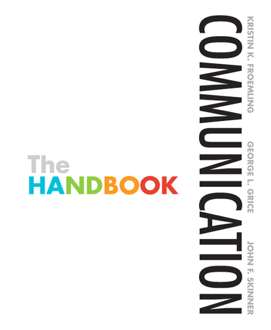 Froemling grice skinner communication the handbook pearson communication the handbook fandeluxe Gallery