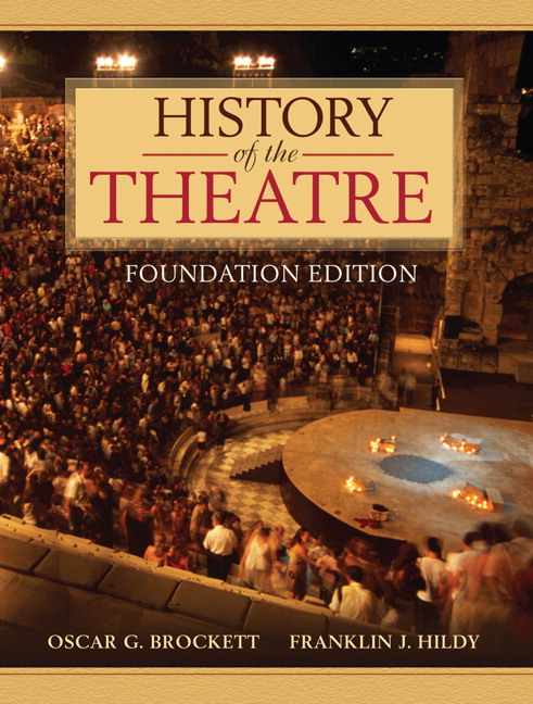 an introduction to the history of the theatre Black hills state university theatre program provides an environment where  3 thea 100 introduction to theatre  3 thea 361 literature and history of theatre i.
