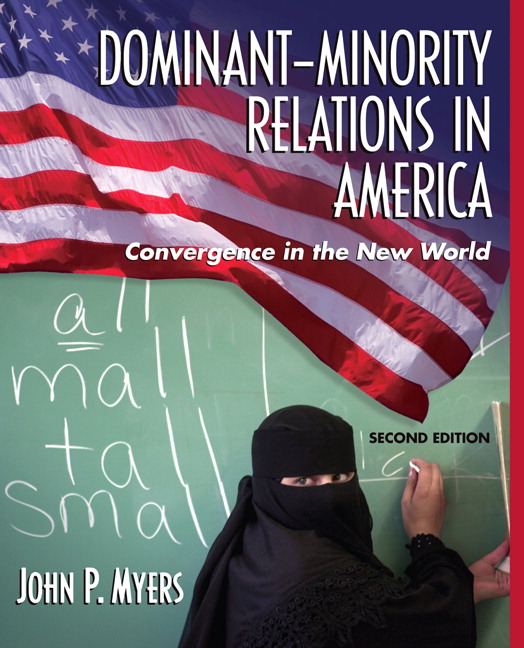 dominant minority relations Get this from a library dominant-minority relations in america : linking personal history with the convergence in the new world [john p myers].