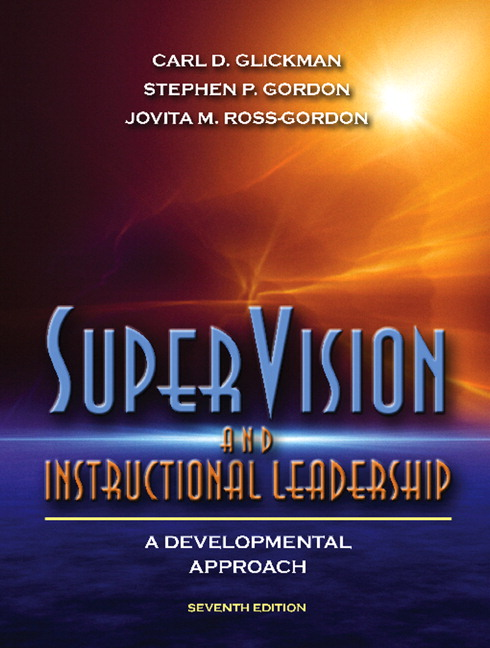Glickman Gordon Ross Gordon Supervision And Instructional