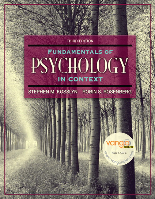Kosslyn rosenberg fundamentals of psychology in context 3rd fundamentals of psychology in context 3rd edition fandeluxe Image collections