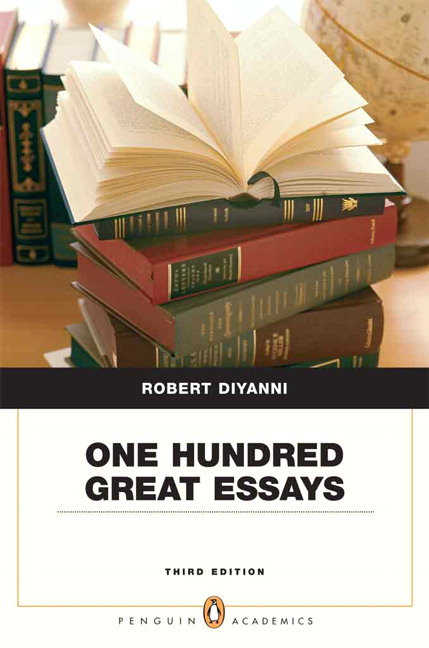 one hundred great essays online The paperback of the one hundred great essays by robert diyanni at barnes &  noble free shipping on  temporarily out of stock online.