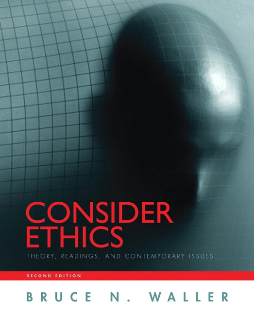 Waller consider ethics theory readings and contemporary issues consider ethics theory readings and contemporary issues 2nd edition fandeluxe Choice Image