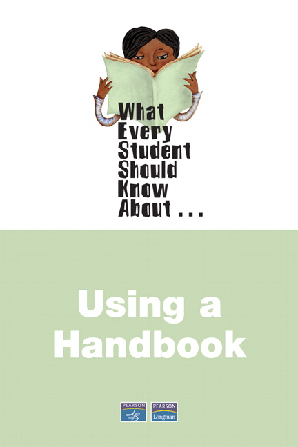 What Every Student Should Know About Using a Handbook