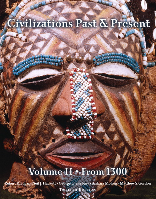 Edgar hackett jewsbury molony gordon civilizations past civilizations past present volume 2 fandeluxe Image collections