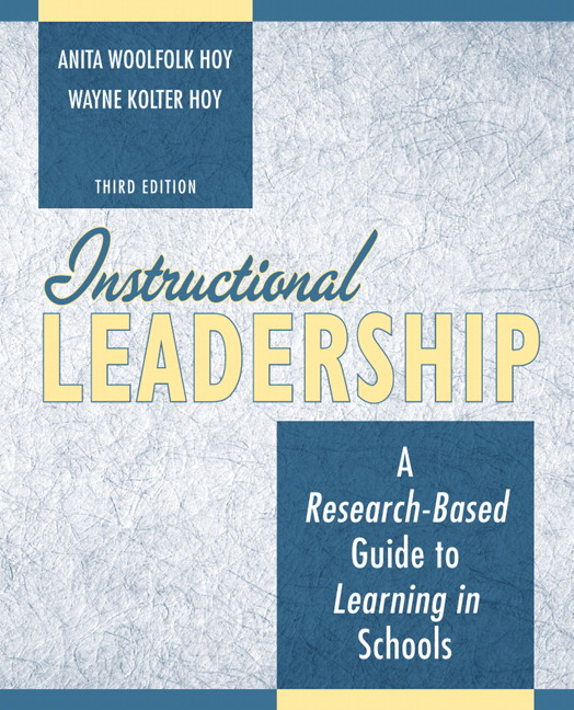 Woolfolk Hoy Instructional Leadership A Research Based Guide To