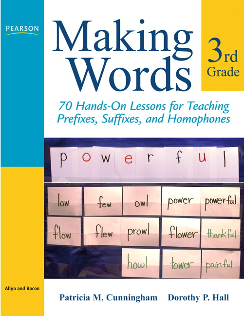 100 Hands-On Lessons for Phonemic Awareness Phonics and Spelling Making Words Second Grade
