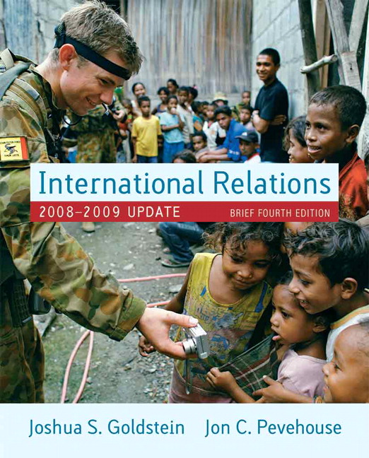International Relations, 2008-2009 Update, Brief Edition, 4th Edition