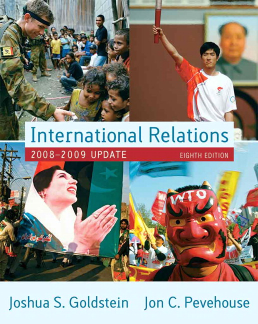 Goldstein pdf international relations joshua
