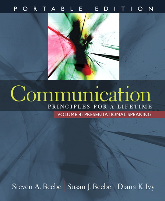 Communication principles for a lifetime 4th edition