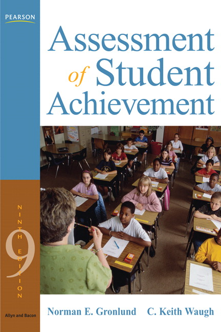 Gronlund waugh assessment of student achievement pearson assessment of student achievement view larger fandeluxe Image collections