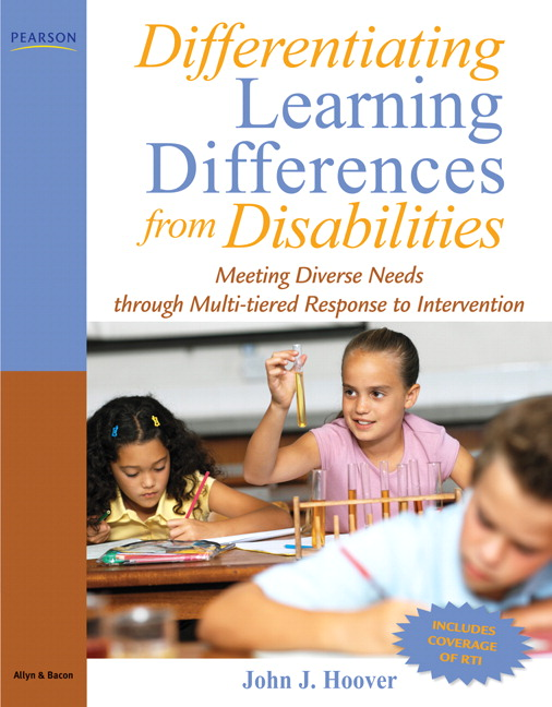 Differentiating Learning Differences from Disabilities: Meeting Diverse Needs through Multi-Tiered Response to Intervention