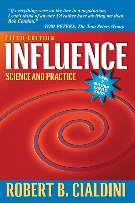 Influence: Science and Practice, 5th Edition