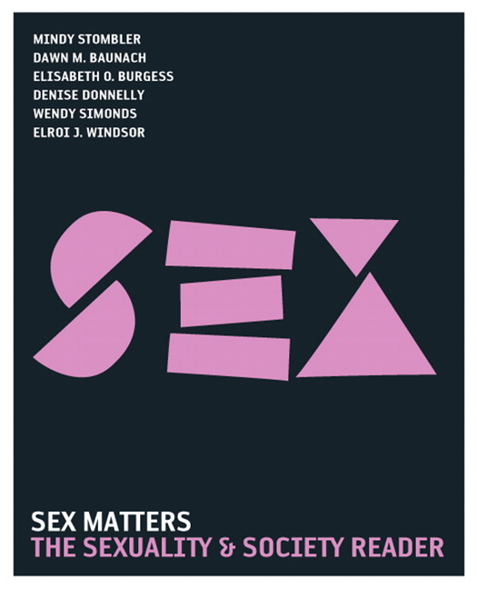 Sex Matters: The Sexuality and Society Reader, 3rd Edition
