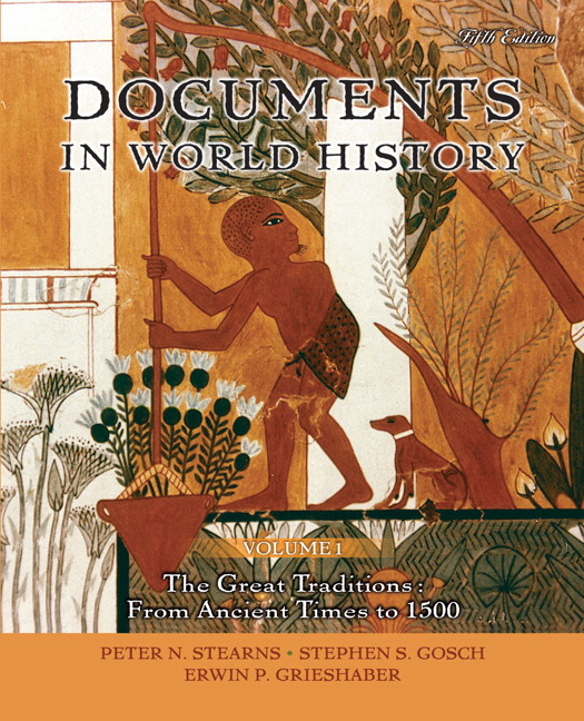 Stearns gosch grieshaber documents in world history volume 1 view larger fandeluxe Gallery