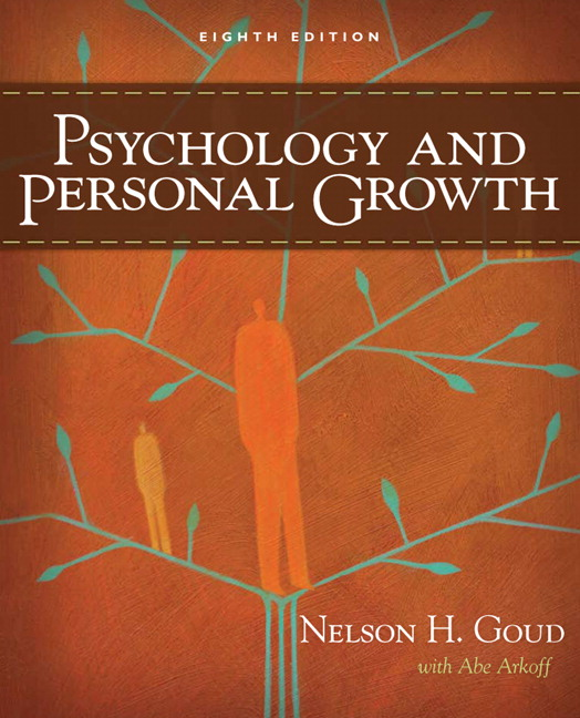 Goud arkoff psychology and personal growth 8th edition pearson psychology and personal growth 8th edition fandeluxe Choice Image