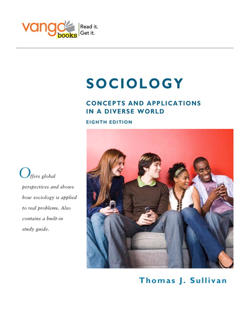 concepts of sociology