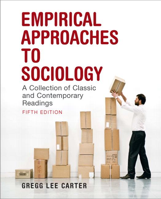 Carter empirical approaches to sociology a collection of classic empirical approaches to sociology a collection of classic fandeluxe Images
