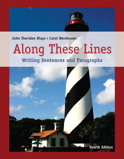 along these lines writing paragraphs and essays 3rd edition Along these lines: writing paragraphs and essays (5th edition) (biays/wershoven developmental writing) by john sheridan biays, carol wershoven and a great selection of similar used, new and collectible books available now at abebookscom.