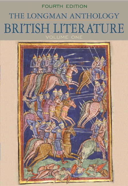 Damrosch dettmar baswell carroll hadfield henderson manning longman anthology of british literature the volume 1 4th edition fandeluxe