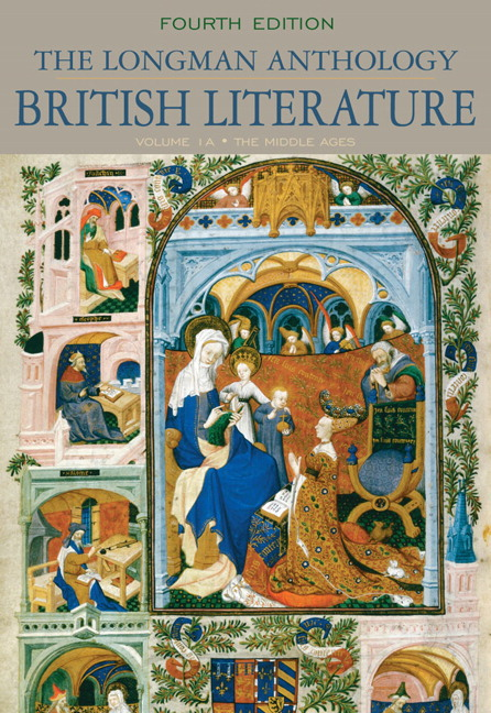 Longman Anthology of British Literature, Volume 1A, The: The Middle Ages, 4th Edition