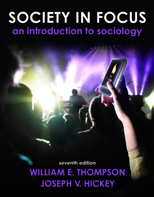 Thompson hickey society in focus an introduction to sociology view larger fandeluxe Gallery