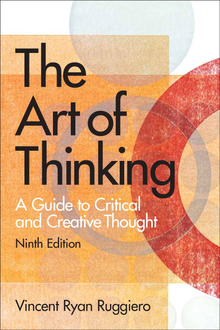 Art of Thinking The th Edition Pearson Higher Education