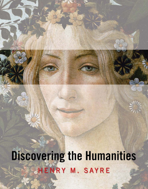 sayre the humanities book 5 For an undergraduate introductory level course in the humanities humanities narrated in a story-telling a books by henry m sayre more.