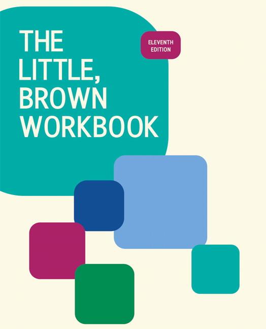 little brown writing handbook