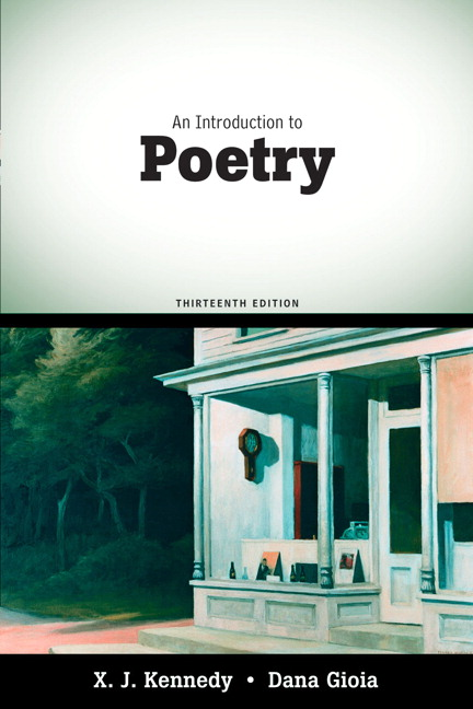 Introduction to Poetry, An, 13th Edition