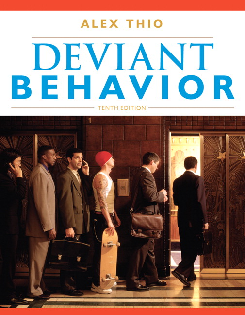 my deviant behavior essay Free essays from bartleby | following labeling theory: relatively powerful persons are more likely to label the less powerful as deviant than vice versa.