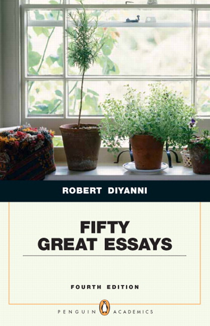 100 great essays diyanni 4th edition