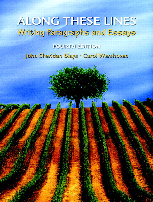along these lines writing paragraphs and essays 4th edition Along these lines is extensively indexed also along these lines contains dozens of beautiful full color photographs (every picture tells a story) now i have added the textbook area to my favorites list :-) along these lines: writing paragraphs and essays, third edition by john sheridan biays.