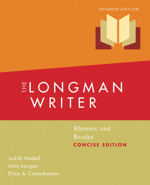 Nadell langan comodromos longman writer the concise edition longman writer the concise edition mla update edition rhetoric and reader 7th edition fandeluxe Choice Image