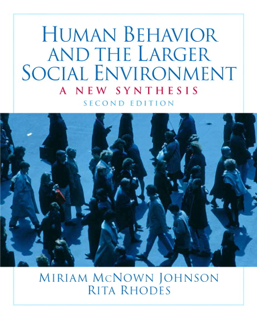 McNown Johnson & Rhodes, Human Behavior and the Larger Social ...