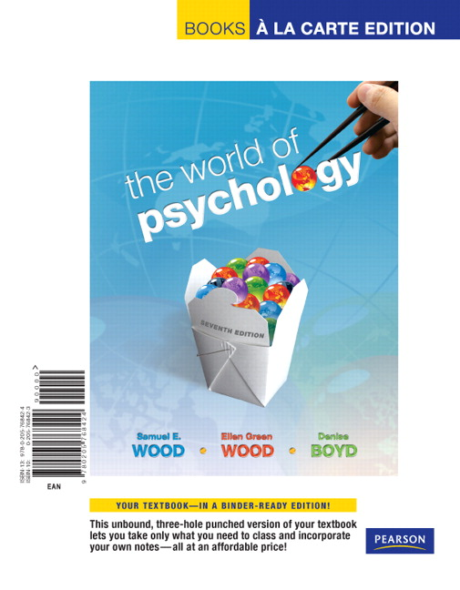 Wood wood boyd world of psychology the 7th edition pearson world of psychology the books a la carte edition 7th edition fandeluxe Images