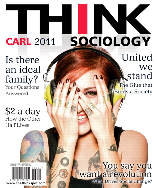 Carl think sociology 2nd edition pearson book cover fandeluxe Gallery