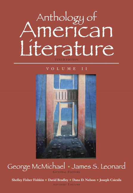 Mcmichael leonard fishkin bradley nelson csicsila anthology anthology of american literature volume ii fandeluxe Images
