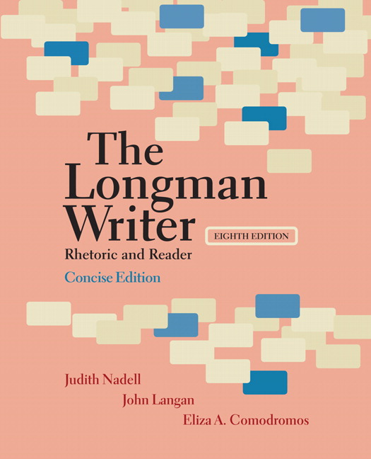 Nadell langan comodromos longman writer the concise edition longman writer the concise edition rhetoric and reader 8th edition fandeluxe